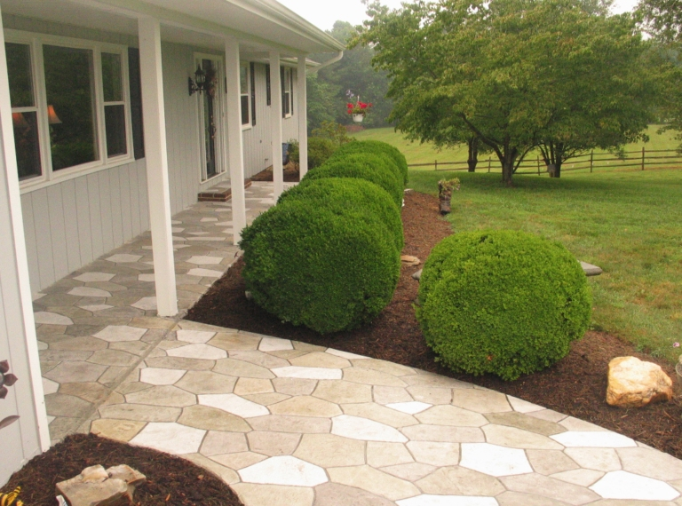 Concrete Patios: Designs That Transform Any Backyard Space ... on Patio Surfaces Ideas id=25578